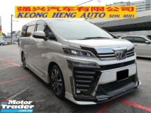 2018 TOYOTA VELLFIRE 2.5 NEW MODEL TRUE YEAR MADE 2018 ZG PILOT JBL EDGE 3 LED LIGHTS MODELISTER LEATHER 360 CAMS 2020