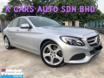 2016 MERCEDES-BENZ C-CLASS C200 2.0 (A) ACTUAL YEAR MAKE GOOD CONDITION OTR