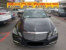 2013 MERCEDES-BENZ E-CLASS E200 CGI 1.8 (CKD) (FREE 2 YEARS CAR WARRANTY)