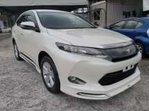 2016 TOYOTA HARRIER 2.0 PREMIUM UNREGISTER 2 YEAR WARRANTY