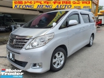 2014 TOYOTA ALPHARD 240X FACELIFT 2WD *2 years warranty* 2 power door