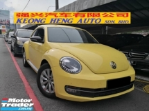 2014 VOLKSWAGEN BEETLE 1.2 TSI Turbo TRUE YEAR MADE 2014 ((( FREE 2 YEARS WARRANTY ))) Full Service Wearnes Auto