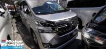 2015 TOYOTA VELLFIRE 2.5 X / 2 PWR DOORS / 8 SEATER / TIPTOP CONDITION