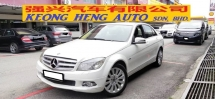 2010 MERCEDES-BENZ C-CLASS C200 1.8 CGI BLUE EFFICIENCY (A) FREE 2YRS WRRT