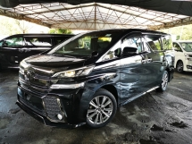 2016 TOYOTA VELLFIRE 2.5 Z A EDITION GOLDEN EYE