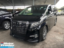 2016 TOYOTA ALPHARD 2.5 SC Alpine , Sunroof , 360 Camera , Pre-Crash ,