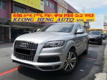 2013 AUDI Q7 3.0 TFSI Petrol New facelift TRUE YEAR MADE 2013 CBU Audi Malaysia (( FREE 2 YEARS WARRANTY )) 2014