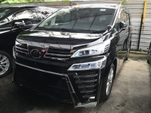 2019 TOYOTA VELLFIRE 2.5 Z A INC SST 360 cameras LOW MILEAGE Pre Crash Lane Keeping Assist Power Boot 2 YRS WARRANTY Unre