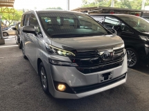 2017 TOYOTA VELLFIRE 2.5 X High Spec Unregistered