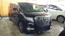 2017 TOYOTA ALPHARD 2.5 SC BASIC SPEC WITH ALPINE SET