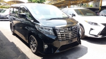 2015 TOYOTA ALPHARD 2.5 G FULL SPEC WITH POWER BOOT