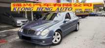 2005 MERCEDES-BENZ E-CLASS E240 W211 2.6 AVANTGARDE (JAPAN SPEC)