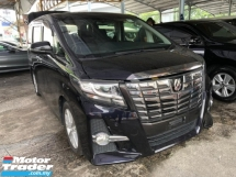2015 TOYOTA ALPHARD 2.5 S Surround Camera 8 Seather Unregistered