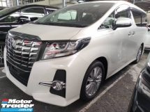 2016 TOYOTA ALPHARD 2.5 S Surround Camera , JBL, Pre-Crash Unregister