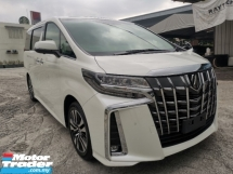 2019 TOYOTA ALPHARD 2.5 SC 3LED Leather Sun Roof New Car Unregister