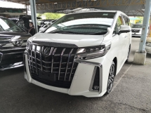 2019 TOYOTA ALPHARD 2.5 S C INC SST Sunroof 360 cameras Lane Keeping Assist Pre Crash Blind Spot Assist LOW MILEAGE Unre