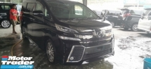 2015 TOYOTA VELLFIRE 2.5 ZG / ALPHINE MONITOR / READY STOCK OFFER / 5 YEARS WARRANTY UNLIMITED KM