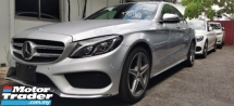 2016 MERCEDES-BENZ C-CLASS C200 AMG 2.0 / HUD / POWER BOOT / TIPTOP CONDITION ORIGINAL MILEAGE / 5 YEARS WARRANTY UNLIMITED KM