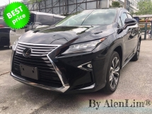 2017 LEXUS RX 200T RX200T 2.0 TURBO (UNREG) INT CLASSIC BEIGE GOOD CONDITION FOC 3 YEAR WRT