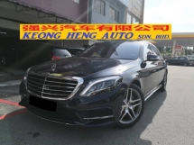 2017 MERCEDES-BENZ S-CLASS S400L AMG Local TRUE YEAR MADE 2017 Mil 13k km Only Full Service Hap Seng Warranty to Aug 2022