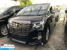 2017 TOYOTA ALPHARD 2.5 CVT S A PACKAGE TYPE BLACK Unregister