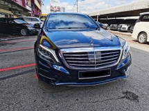 2017 MERCEDES-BENZ S-CLASS Mercedes Benz S400L Local AMG Line (A) REG 2018