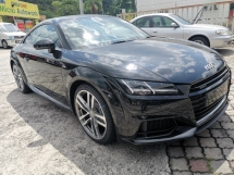 2016 AUDI TT 2.0 TFSI S LINE QUATTRO UNREGISTER 1 YEAR WARRANTY