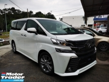 2017 TOYOTA VELLFIRE 2.4 Z GOLDEN EYES FACELIFT