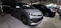 2015 TOYOTA ESTIMA 2.4 AERAS PREMIUM/FREE 5 YEARS WARRANTY/SUNROOF