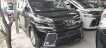 2015 TOYOTA VELLFIRE 2.5Z/free 5 years warranty