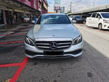 2019 MERCEDES-BENZ E-CLASS 2019 Mercedes Benz E200 2.0 AVANTGARDE (CKD) 9K KM