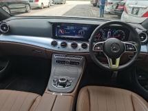 2019 MERCEDES-BENZ E-CLASS 2019 Mercedes Benz E200 2.0 AVANTGARDE (CKD) 9K KM