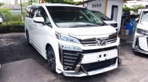 2018 TOYOTA VELLFIRE 2.5 ZG FULL SPEC WITH MODELLISTA KIT