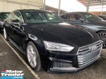 2017 AUDI A5 2. TFSI S Line Quattro Led Lightbsr Panoramic roof Power Boot high spec Unregistered