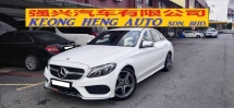 2018 MERCEDES-BENZ C-CLASS C200 AMG LINE 2.0cc (A) L/MILE 24K, WARRANTY 2022