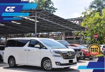 2016 TOYOTA VELLFIRE 2.5 ZG Local Spec Under Warranty by UMW