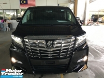 2017 TOYOTA ALPHARD 2.5 SA POWER BOAT FULL VIEW CAMERA must View