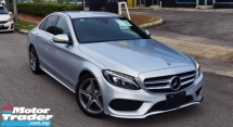 2017 MERCEDES-BENZ C-CLASS 2017 MERCEDES C180 1.6 AMG SPEC 9 SPEED JAPAN UNREG CAR SELLING PRICE RM 183000.00