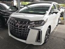2019 TOYOTA ALPHARD 2.5 S C INC SST Pre Crash Lane Keeping Assist Sunroof 360 Cameras Android Player Japan Unreg