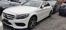 2016 MERCEDES-BENZ C-CLASS C200 AMG 2.0 / 4.5 CONDITION / HUD / PWR BOOT / 5 YR WRTY