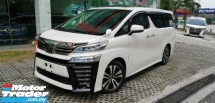 2019 TOYOTA VELLFIRE 2.5 Z G EDITION Sunroof