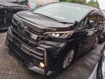 2016 TOYOTA VELLFIRE 2.5 Z 4 CAMERA 7 SEAT POWER BOOTH BODYKIT WITH DAYLIGHT PRE CRASH 2016 JAPAN UNREG