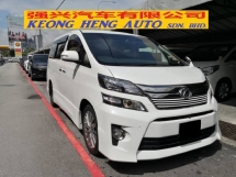 2013 TOYOTA VELLFIRE 2.4 Golden Eye TRUE YEAR MADE 2013 (( FREE 2 YEARS WARRANTY )) Power Boot 2 Power Door 7 Seat 2016