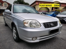 2004 HYUNDAI ACCENT 1.5L (A) 1 OWNER - TIP TOP CONDITION - PERFACT NEW