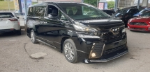 2017 TOYOTA VELLFIRE 2.5 Z GOLDEN EYES WITH MODELLISTA BODYKIT UNREG