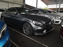 2017 MERCEDES-BENZ C-CLASS C300 2.0 Coupe AMG Premium Burmester Sounds Panoramic Roof INC SST 2 YEARS WARRANTY Unreg