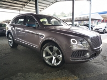 2018 BENTLEY BENTAYGA Bentley Bentayga 4.0 V8