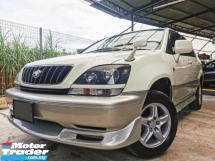2001 TOYOTA HARRIER Toyota HARRIER 2.4 (A) JBL P/SHIFT HI-SPEC WARRNTY