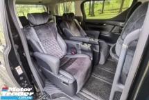 2015 TOYOTA VELLFIRE 2.5 ZG FACELIFT PILOT SEAT JBL SOUND SYSTEM SEMI LEATHER SEAT MEMORY  POWER ADJUST SEAT