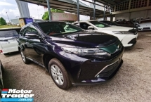 2018 TOYOTA HARRIER 2.0 FACELIFT 4 CAMERA POWER BOOTH BLACK RED INTERIOR PRE CRASH 2018 JAPAN UNREG FREE GMR WARRANTY